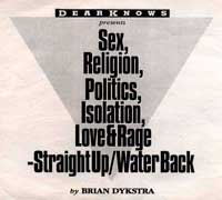 Sex Religion  by Brian Dykstra